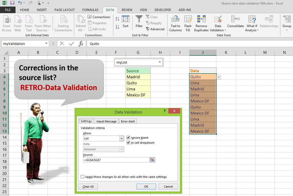 Límites en las herramientas nativas de las hojas de cálculo